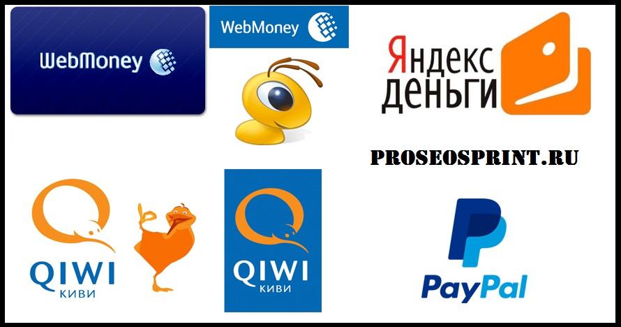 Электронные платежные системы интернета